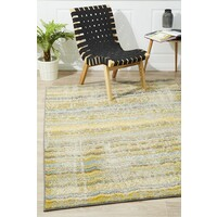 Rug Culture Stunning Monet Inspired Yellow Flooring Rugs Area Carpet 230x160cm