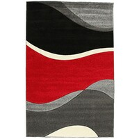 Subtle Waves Runner Red 150x80cm