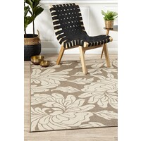 Rug Culture Bloom Natural Outdoor Flooring Rugs Area Carpet 160X110cm