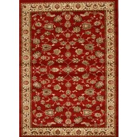 Rug Culture Traditional Floral Pattern Runner Red 500x80cm