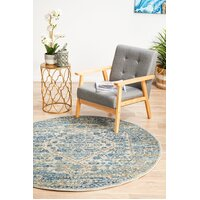 Rug Culture Duality Silver Transitional Flooring Rugs Area Carpet 200x200cm