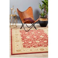 Rug Culture Chobi Design Flooring Rugs Area Carpet Red Bone 400x300cm