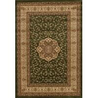 Rug Culture Medallion Classic Pattern Flooring Rugs Area Carpet Green 400x300cm