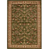 Rug Culture Traditional Floral Pattern Flooring Rugs Area Carpet Green 290x200cm