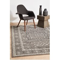 Rug Culture Stone Grey Transitional Flooring Rugs Area Carpet 330x240cm