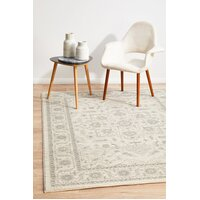 Rug Culture Winter White Transitional Runner 400x80cm