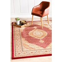 Rug Culture Stunning Formal Oriental Design Flooring Rugs Area Carpet Red 400x300cm