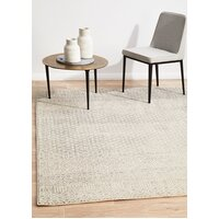 Rug Culture Diamond Grey Transitional Runner 500x80cm