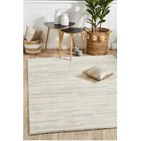 Rug Culture Broadway Evelyn Contemporary Silver Floor Area Rugs BRD-933-SIL-230X160cm