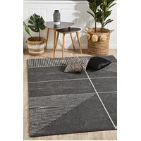 Rug Culture Broadway Florence Modern Charcoal Floor Area Rugs BRD-935-CHAR-290X200cm