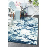 Rug Culture Claire Modern Floor Area Rugs Blue Cream  CHL-6866-BLU-280x190cm