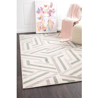 Rug Culture Divinity Link Teal Modern Floor Area Rugs DIM-426-TEA-290X200cm