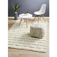 Fusion Compound Ivory Floor Area Rug  EVE-1610-IVO-225X155cm