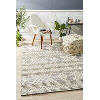 Esha Woven Tribal Floor Area Rug Natural  HUD-806-NAT-320X230cm