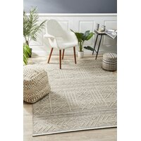 Rug Culture Arya Stitch Woven Floor Area Rug Natural  HUD-807-NAT-225X155cm