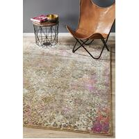 Rug Culture Danica Transitional Floor Area Rugs Soft Pink  MED-1921-PNK-220X150cm