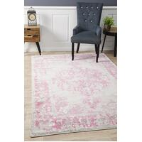 Alexa Transitional Floor Area Rug Grey Fuchsia  MET-602-FUS-230X160cm