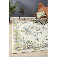 Rug Culture Alexa Transitional Floor Area Rugs White Green Blue  MET-602-GRN-290X200cm