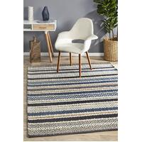 Rhythm Swing Denim Floor Area Rug  MIL-732-DEN-320X230cm