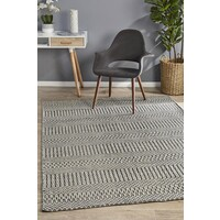 Rhythm Tune Grey Floor Area Rug  MIL-735-GRY-400X300cm