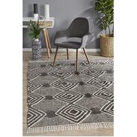 Rhythm Dance Charcoal Floor Area Rug  MIL-744-CHA-280X190cm