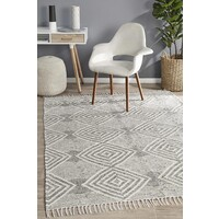 Rhythm Dance Grey Floor Area Rug  MIL-744-GRY-225X155cm