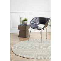 Rug Culture Adani  Modern Tribal Design Floor Area Rugs Grey  MIR-359-GRY-150X150cm