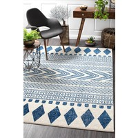 Rug Culture Adani  Modern Tribal Design Floor Area Rugs Navy  MIR-359-NAV-230X160cm