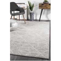 Rug Culture Kenza Contemporary Silver Floor Area Rugs OAS-457-SIL-230X160cm