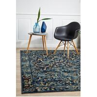 Rug Culture Mayfair Stem Navy Floor Area Rugs OXF-436-NAV-290X200cm