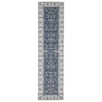 Rug Culture Aisha Oriental Runner Rugs Blue White PAL-20-BLUW-400X80cm
