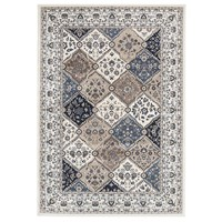 Rug Culture Jamila Oriental Floor Area Rugs White White  PAL-21-WW-330X240cm