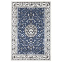 Rug Culture Manal Oriental Floor Area Rugs Blue White  PAL-22-BLUW-330X240cm