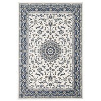 Rug Culture Manal Oriental Floor Area Rugs White Blue  PAL-22-WBLU-230X160cm