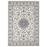 Rug Culture Manal Oriental Floor Area Rugs White White  PAL-22-WW-230X160cm