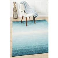 Blair Shaded Blue Textured Floor Area Rug  PRI-580-BLU-280X190cm