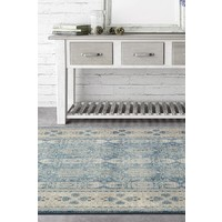 Rug Culture Breeze Oasis Blue Floor Area Rugs SOP-880-BLU-290X200cm