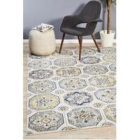 Rug Culture Babylon 204 Floor Area Carpeted Rug Modern Rectangle Blue 400X300cm