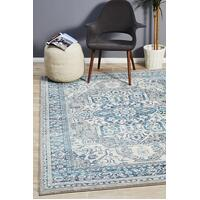 Rug Culture Babylon 207 Floor Area Carpeted Rug Modern Rectangle Blue 230X160cm