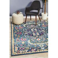 Rug Culture Babylon 209 Floor Area Carpeted Rug Modern Rectangle Navy 230X160cm