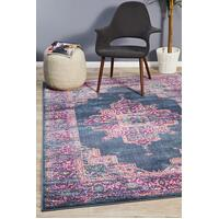 Rug Culture Babylon 211 Floor Area Carpeted Rug Modern Rectangle Navy 290X200cm