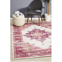 Rug Culture Babylon 211 Floor Area Carpeted Rug Modern Rectangle Pink 400X300cm