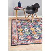 Rug Culture CENTURY 933 Floor Area Carpeted Rug Contemporary Rectangle Navy 400X300cm