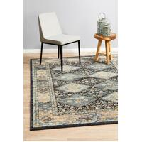 Rug Culture LEGACY 857 Floor Area Carpeted Rug Modern Rectangle Navy 330X240cm