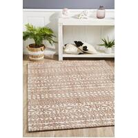 Rug Culture Levi Becca Floor Area Carpeted Rug Transitional Rectangle Peach 400X300cm