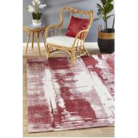 Rug Culture Magnolia 11 Floor Area Carpeted Rug Modern Rectangle Rose 280X190cm