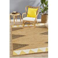 Rug Culture PARADE 222 Floor Area Carpeted Rug Modern Rectangle Yellow 220X150cm