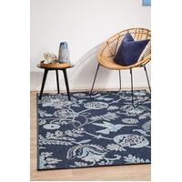 Rug Culture SEASIDE 7777 Floor Area Carpeted Rug Outdoor Rectangle Navy 280X190CM